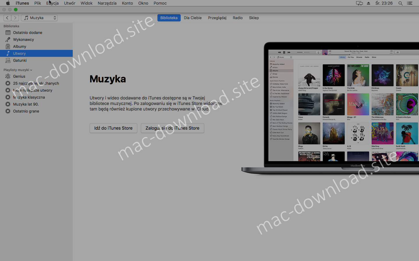 Download iTunes (Mac) 12 9 for free from mac-download site