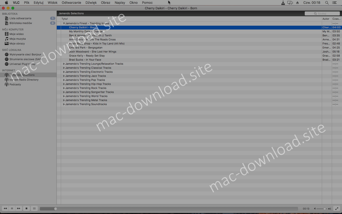 Download VLC media player (Mac) 3 0 4 for free from mac-download site